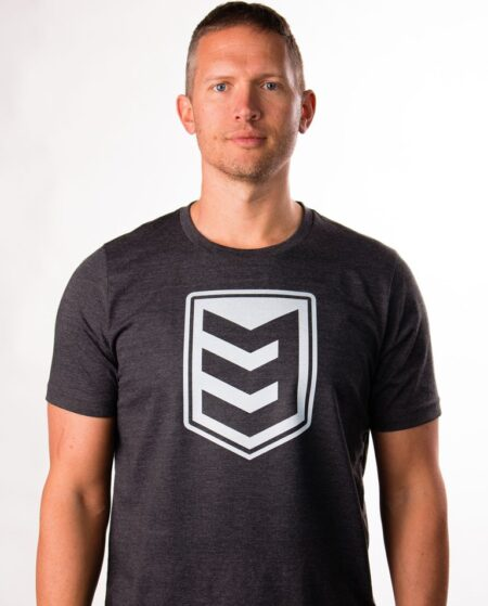 3V Gear Shield Tee - Dark Grey