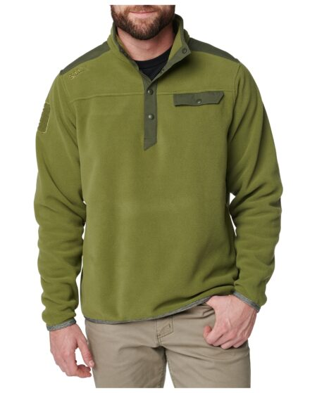 5.11 Tactical Men Apollo Tech Fleece Shirt