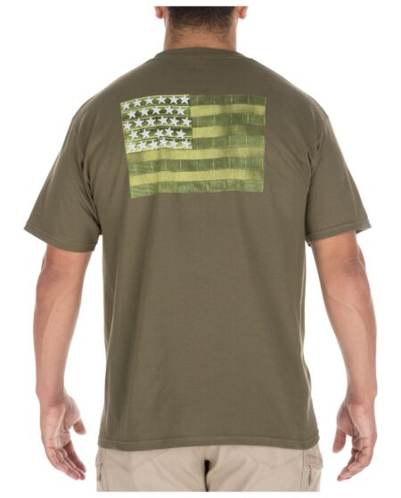 5.11 Tactical Men Molle America T-Shirt (Green)