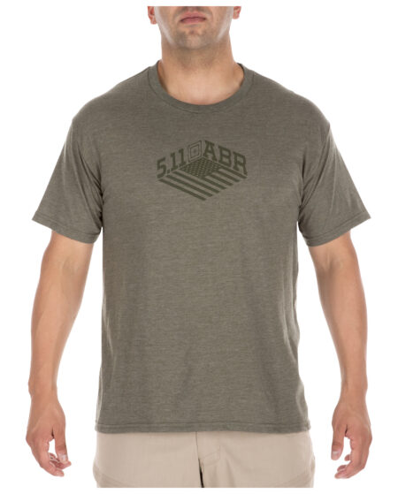 5.11 Tactical Men Stronghold Tee (Green)