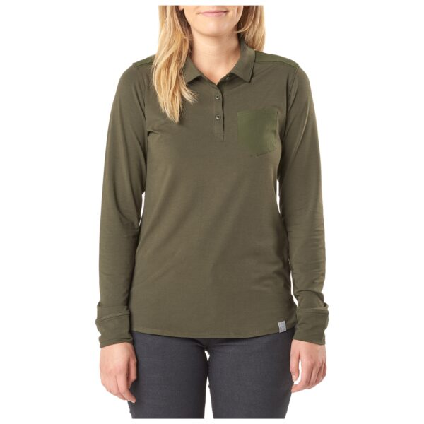 5.11 Tactical Women Enyo Top (Green)