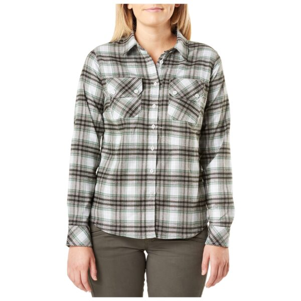 5.11 Tactical Women Hera Flannel (Green)