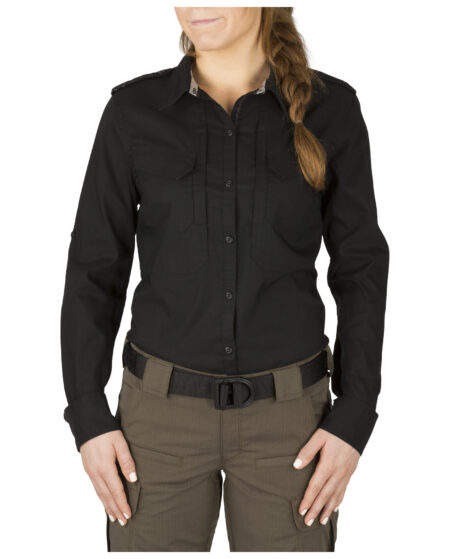 5.11 Tactical Women Women's Spitfire Shooting Shirt (Black)