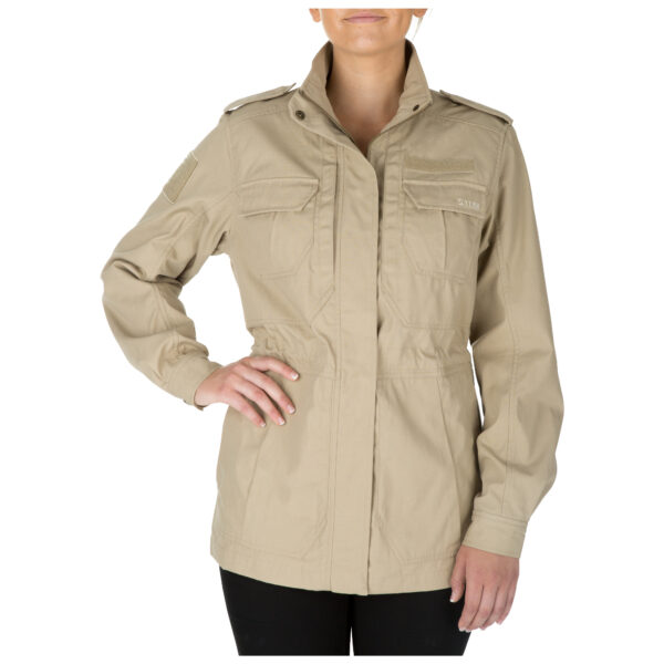 5.11 Tactical Women Women's TACLITE M-65 Jacket (Khaki/Tan), Size S (CCW Concealed Carry)