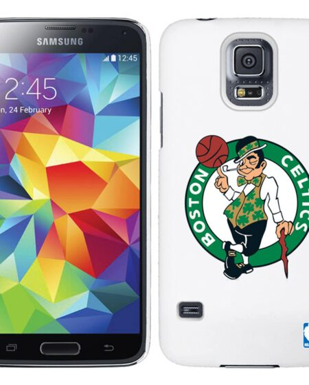 Boston Celtics Galaxy S5 Primary Logo Thinshield Case - White