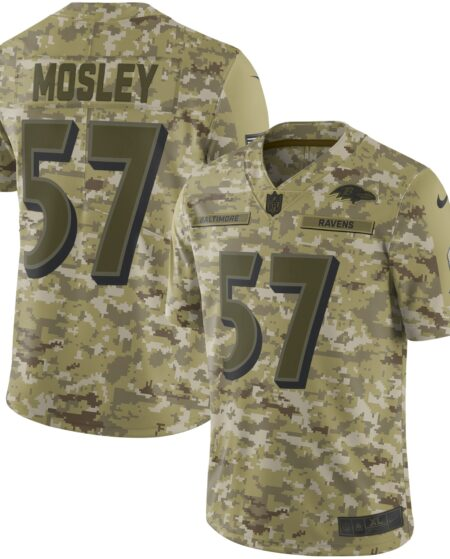 C.J. Mosley Baltimore Ravens Nike Salute to Service Limited Jersey - Camo