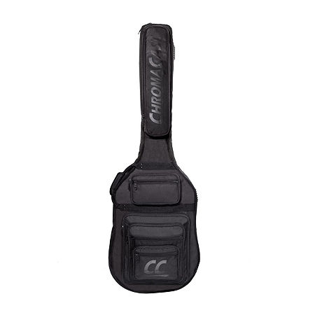ChromaCast Pro Series Electric Bass Guitar Padded Gig Bag, One Size , Black