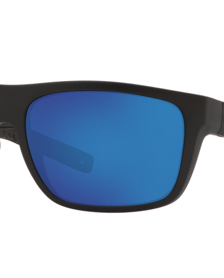Costa Del Mar Man 6S000312 BROADBILL - Frame color: Matte Black, Lens color: Blue, Size 61-17/118