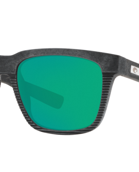 Costa Del Mar Man 6S000334 - Frame color: Black, Lens color: Green, Size 55-17/140