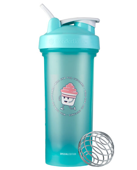 Foodie Classic Protein Shaker Bottle - Cupcake
