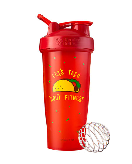 Foodie Classic Shaker Cup - Let's Taco 'bout Fitness