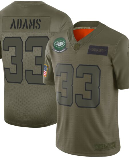 Jamal Adams New York Jets Nike 2019 Salute to Service Limited Jersey - Olive
