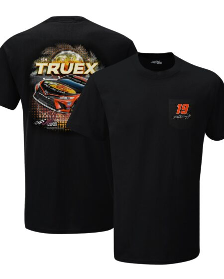 Martin Truex Jr Bass Pro Shops Pocket T-Shirt - Black