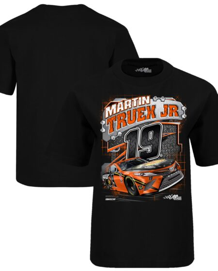 Martin Truex Jr Joe Gibbs Racing Team Collection Youth Bass Pro Shops Surge T-Shirt - Black