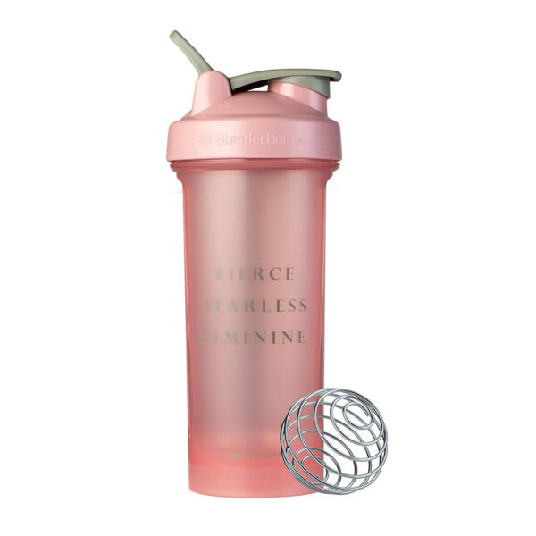 Motivational Classic V2 Shaker Cup - Fierce, Fearless, Feminine
