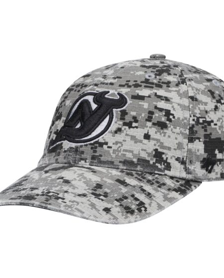 New Jersey Devils '47 OHT Military Appreciation Clean Up Adjustable Hat - Camo