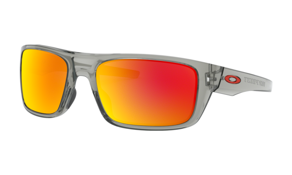 Oakley Men's Grey Ink Drop Point Sunglasses