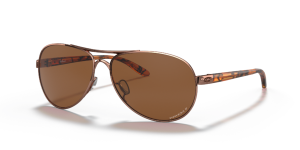 Oakley Women's Rose Gold Feedback Sunglasses