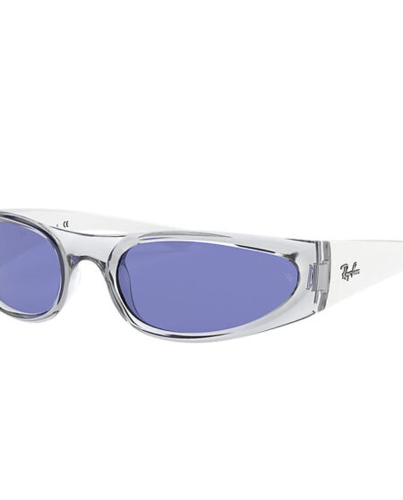 Ray-Ban Rb4332 White, Blue Lenses - RB4332