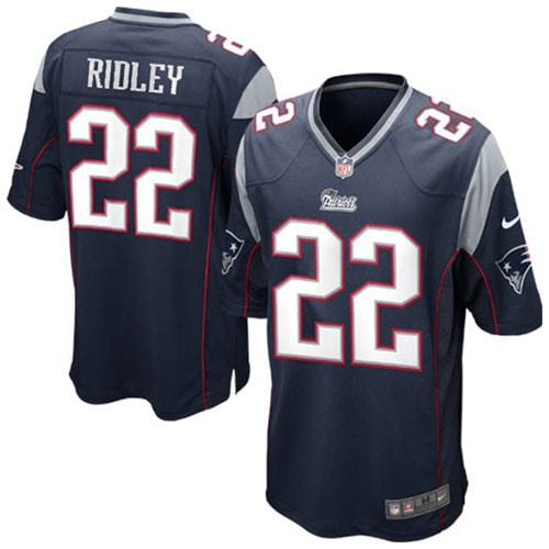 Stevan Ridley New England Patriots Nike Youth Team Color Game Jersey - Navy Blue