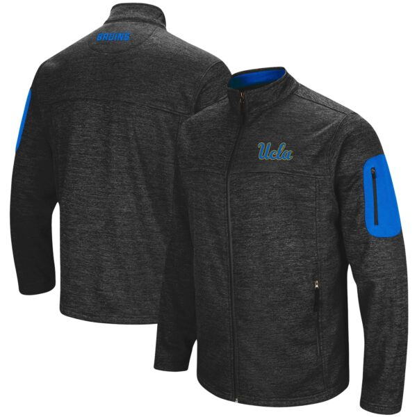 UCLA Bruins Colosseum Anchor Full-Zip Jacket - Heathered Charcoal