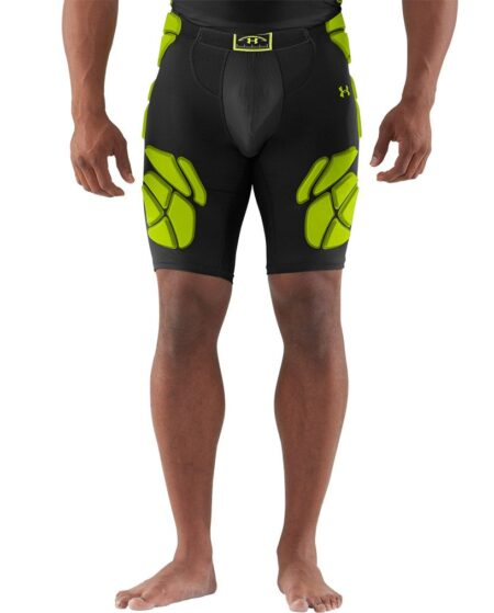 Under Armour Men's Gameday Armour 5 Pad Girdle, Large, Black