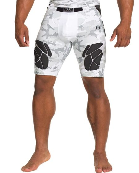Under Armour Men's Gameday Armour Camo Girdle, Large, White