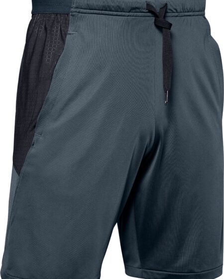 Under Armour Men's MK-1 Embossed Print Shorts (Regular and Big & Tall), XL, Gray