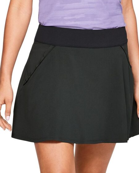 Women's Under Armour Links Golf Skort, Size: Medium, Black