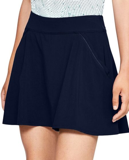 Women's Under Armour Links Golf Skort, Size: Small, Dark Blue
