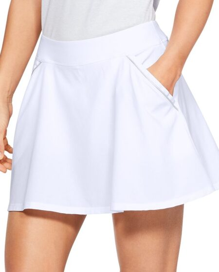 Women's Under Armour Links Golf Skort, Size: XS, Natural