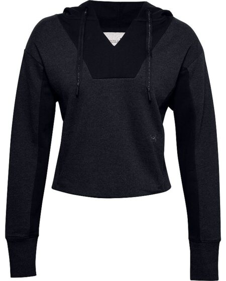 Women's Under Armour Rival Fleece Hoodie, Size: Large, Black