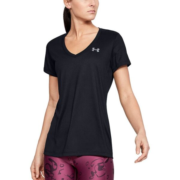 Women's Under Armour Tech Twist V-Neck Tee, Size: XS, Oxford