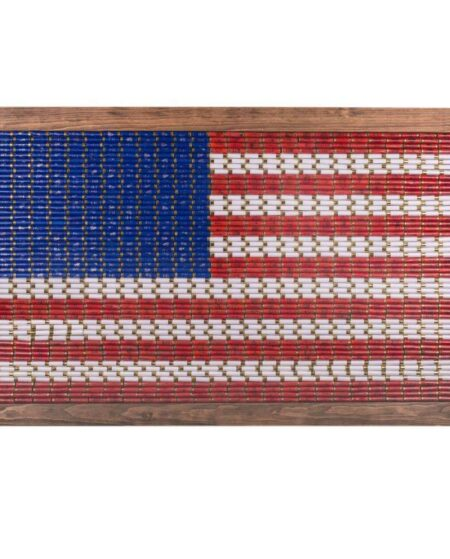 12 Gauge American Flag Wall Art - Large
