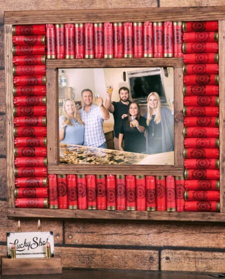 12 Gauge Shotgun Shell Picture Frame