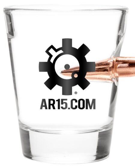 Special AR15.COM Edition .308 Bullet Shot Glass