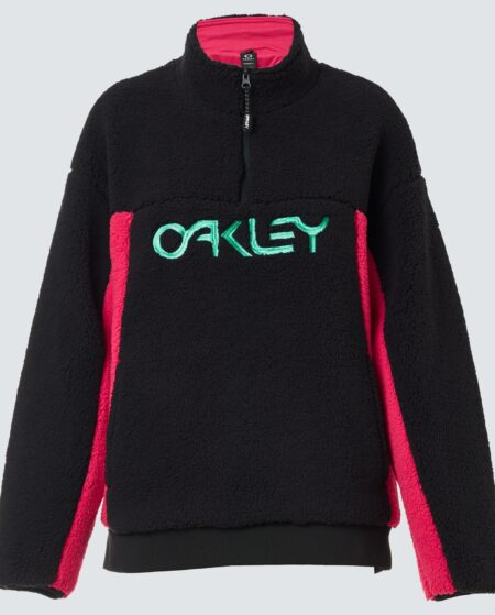 Oakley Women's Black/rubine Tnp Women's Sherpa Fleece Size: L