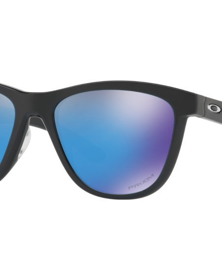 Oakley Women's Polished Black Moonlighter Sunglasses