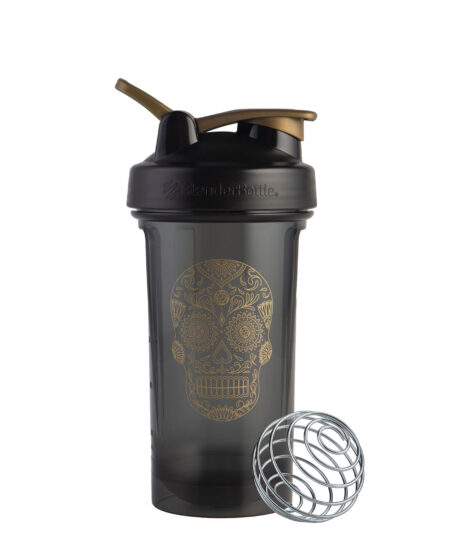 Sugar Skull Pro Slim - Gold Black