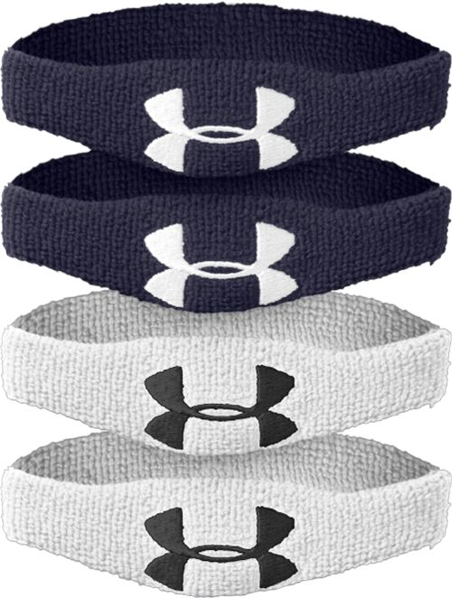 """Under Armour Performance Bicep Bands - 1/2"""", Blue"""