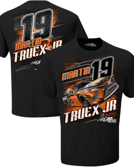 Martin Truex Jr Joe Gibbs Racing Team Collection Bass Pro Shops Camber T-Shirt - Black